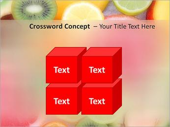 Les tranches de fruits Modèles des présentations  PowerPoint - Diapositives 19