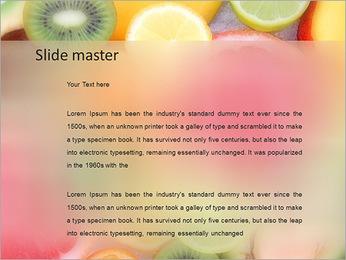 Les tranches de fruits Modèles des présentations  PowerPoint - Diapositives 2