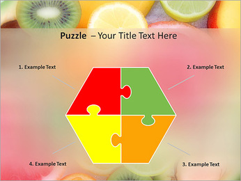 Les tranches de fruits Modèles des présentations  PowerPoint - Diapositives 20