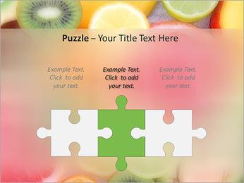 Les tranches de fruits Modèles des présentations  PowerPoint - Diapositives 22