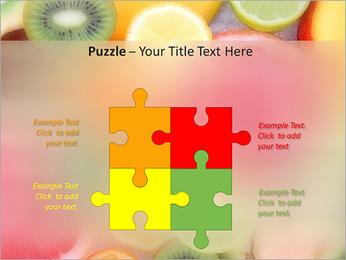 Les tranches de fruits Modèles des présentations  PowerPoint - Diapositives 23