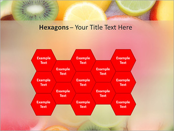 Les tranches de fruits Modèles des présentations  PowerPoint - Diapositives 24