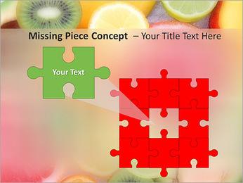Les tranches de fruits Modèles des présentations  PowerPoint - Diapositives 25