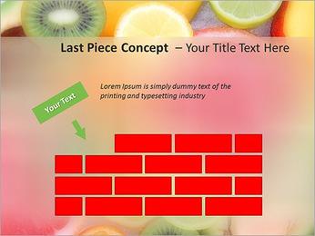Les tranches de fruits Modèles des présentations  PowerPoint - Diapositives 26
