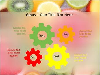 Les tranches de fruits Modèles des présentations  PowerPoint - Diapositives 27