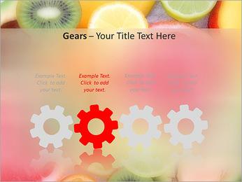 Les tranches de fruits Modèles des présentations  PowerPoint - Diapositives 28