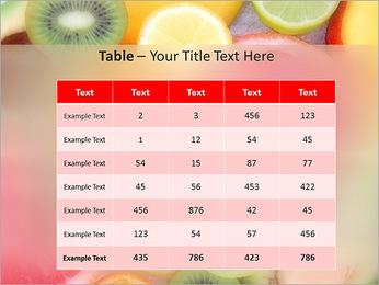 Les tranches de fruits Modèles des présentations  PowerPoint - Diapositives 35