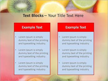 Les tranches de fruits Modèles des présentations  PowerPoint - Diapositives 37