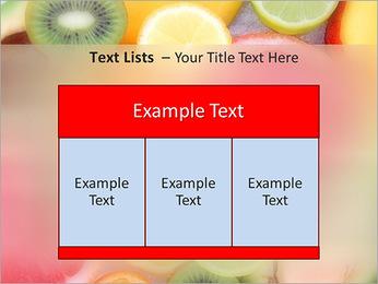 Les tranches de fruits Modèles des présentations  PowerPoint - Diapositives 39