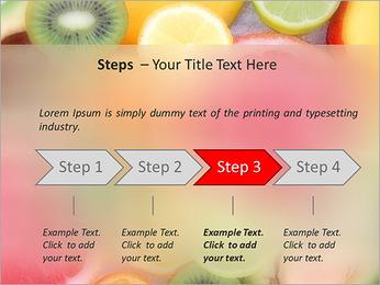 Les tranches de fruits Modèles des présentations  PowerPoint - Diapositives 4