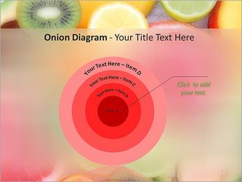Les tranches de fruits Modèles des présentations  PowerPoint - Diapositives 41
