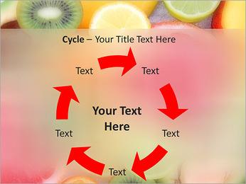 Les tranches de fruits Modèles des présentations  PowerPoint - Diapositives 42