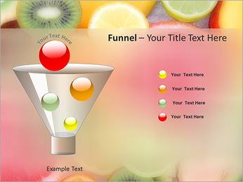Les tranches de fruits Modèles des présentations  PowerPoint - Diapositives 43