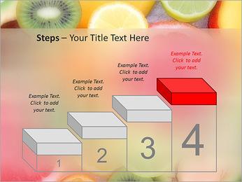 Les tranches de fruits Modèles des présentations  PowerPoint - Diapositives 44