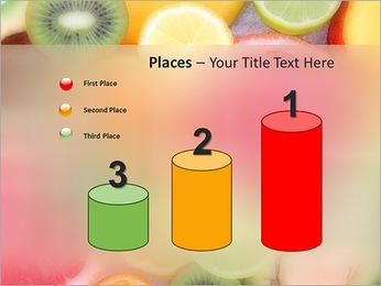 Les tranches de fruits Modèles des présentations  PowerPoint - Diapositives 45