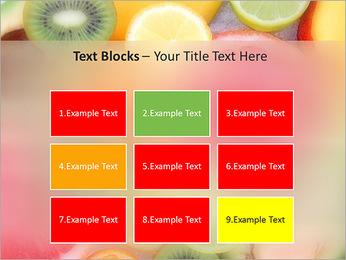 Les tranches de fruits Modèles des présentations  PowerPoint - Diapositives 48