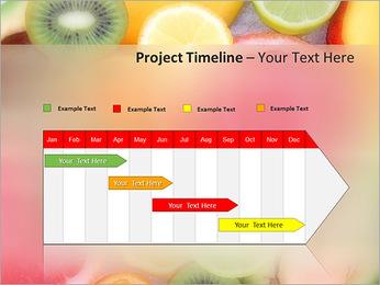 Les tranches de fruits Modèles des présentations  PowerPoint - Diapositives 5