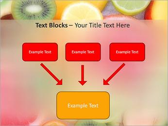Les tranches de fruits Modèles des présentations  PowerPoint - Diapositives 50