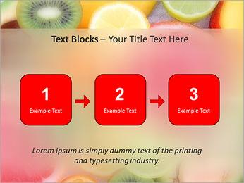 Les tranches de fruits Modèles des présentations  PowerPoint - Diapositives 51