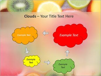 Les tranches de fruits Modèles des présentations  PowerPoint - Diapositives 52