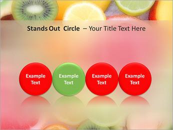 Les tranches de fruits Modèles des présentations  PowerPoint - Diapositives 56