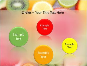 Les tranches de fruits Modèles des présentations  PowerPoint - Diapositives 57