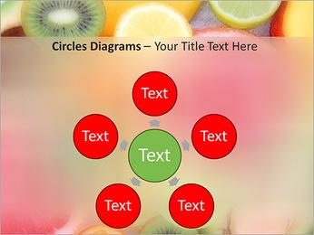 Les tranches de fruits Modèles des présentations  PowerPoint - Diapositives 58