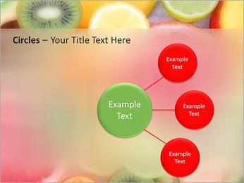 Les tranches de fruits Modèles des présentations  PowerPoint - Diapositives 59