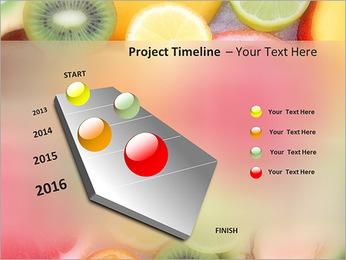 Les tranches de fruits Modèles des présentations  PowerPoint - Diapositives 6