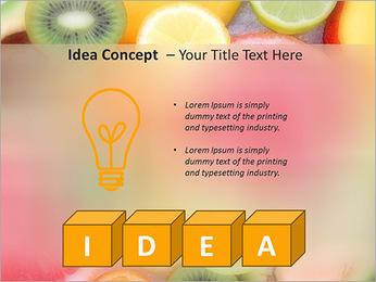 Les tranches de fruits Modèles des présentations  PowerPoint - Diapositives 60