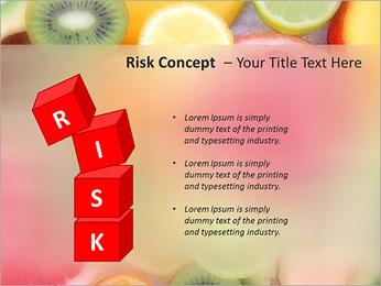 Les tranches de fruits Modèles des présentations  PowerPoint - Diapositives 61