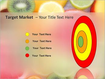 Les tranches de fruits Modèles des présentations  PowerPoint - Diapositives 64