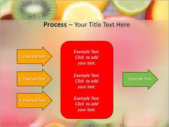Les tranches de fruits Modèles des présentations  PowerPoint - Diapositives 65