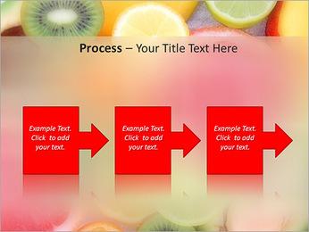 Les tranches de fruits Modèles des présentations  PowerPoint - Diapositives 68