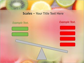Les tranches de fruits Modèles des présentations  PowerPoint - Diapositives 69