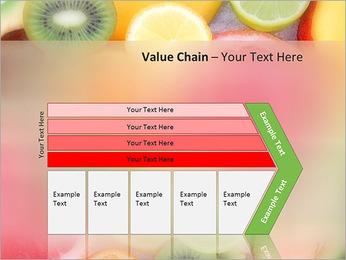Les tranches de fruits Modèles des présentations  PowerPoint - Diapositives 7