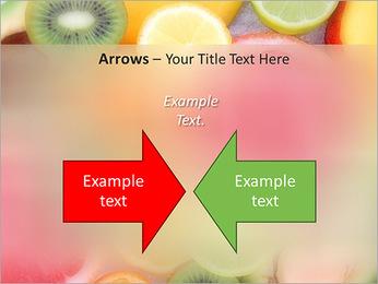 Les tranches de fruits Modèles des présentations  PowerPoint - Diapositives 70