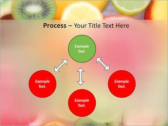 Les tranches de fruits Modèles des présentations  PowerPoint - Diapositives 71