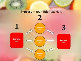 Les tranches de fruits Modèles des présentations  PowerPoint - Diapositives 72