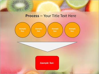 Les tranches de fruits Modèles des présentations  PowerPoint - Diapositives 73