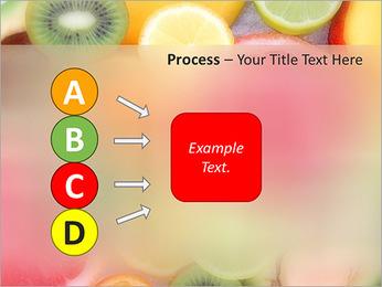 Les tranches de fruits Modèles des présentations  PowerPoint - Diapositives 74