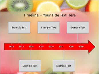 Les tranches de fruits Modèles des présentations  PowerPoint - Diapositives 8