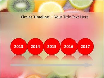 Les tranches de fruits Modèles des présentations  PowerPoint - Diapositives 9
