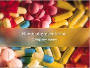 別の丸薬 PowerPointプレゼンテーションのテンプレート