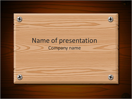 Wooden board powerpoint template backgrounds id 0000004162 wooden board powerpoint template toneelgroepblik Image collections