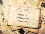 Retro Post Card PowerPoint Templates