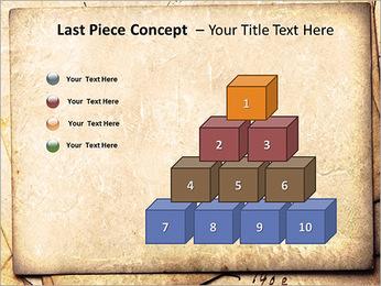 Postal Retro Plantillas de Presentaciones PowerPoint - Diapositiva 11