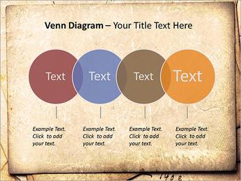 Postal Retro Plantillas de Presentaciones PowerPoint - Diapositiva 12