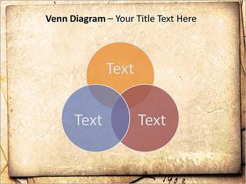 Postal Retro Plantillas de Presentaciones PowerPoint - Diapositiva 13
