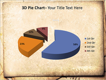 Postal Retro Plantillas de Presentaciones PowerPoint - Diapositiva 15